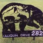 Click to enlarge image Yard Silhouette Address Sign